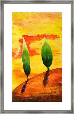 Lonely Planet Framed Print by Nirdesha Munasinghe