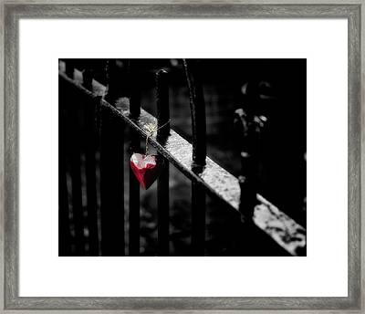 Lonely Framed Print by Richard Bland
