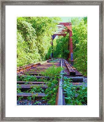 Lonesome Railroad #5 Framed Print by Robert ONeil
