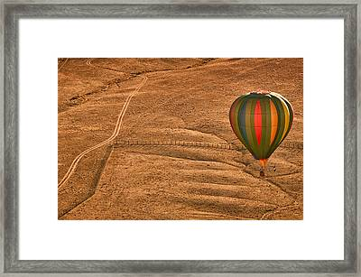 Lonesome Road Framed Print by Keith Berr