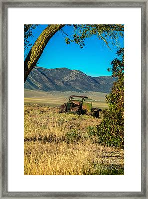 Lonesome Truck Framed Print by Robert Bales