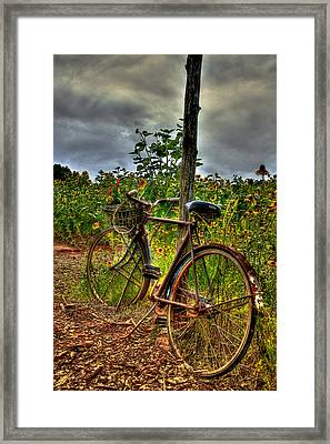 Long Awaited Rest Framed Print by Reid Callaway