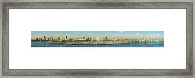 Long Beach California Framed Print by Clear Sky Images