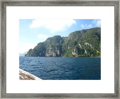 Long Boat Tour - Phi Phi Island - 011312 Framed Print by DC Photographer