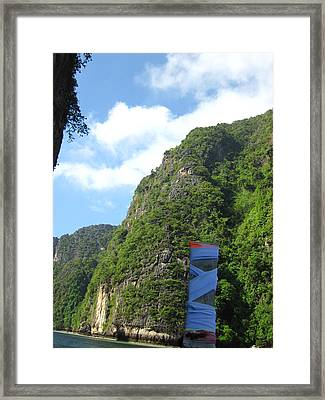 Long Boat Tour - Phi Phi Island - 011341 Framed Print by DC Photographer