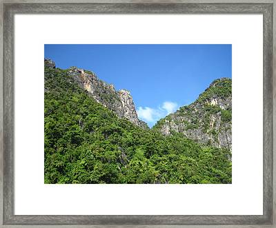 Long Boat Tour - Phi Phi Island - 011368 Framed Print by DC Photographer