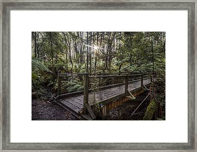 Long Bridge Framed Print by Shari Mattox