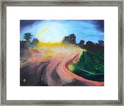 Long Gone Framed Print by Ally Perkins
