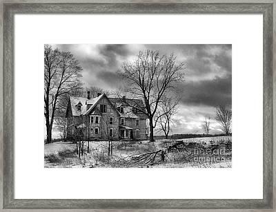 Long Hard Winter Framed Print by Michele Steffey