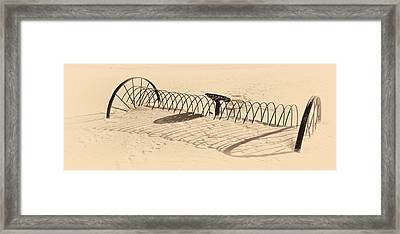 Long Haul Framed Print by Ed Boudreau