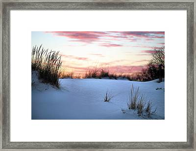 Long Island Sunset Framed Print by JC Findley