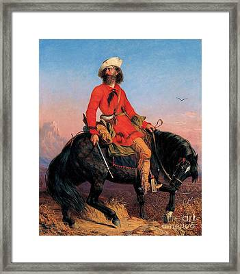 Long Jake - Rocky Mountain Man Framed Print by Pg Reproductions