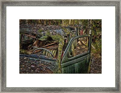 Long Term Parking Framed Print by Erik Brede