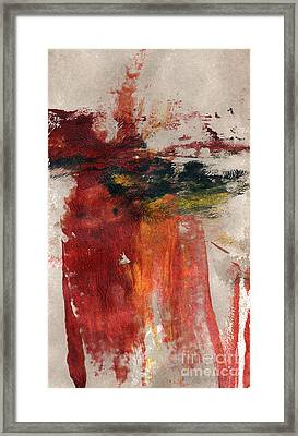 Long Time Coming Framed Print by Linda Woods