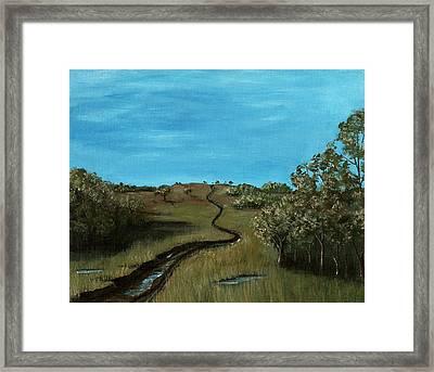 Long Trail Framed Print by Anastasiya Malakhova