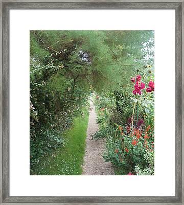 Long Way  Framed Print by Kristine Bogdanovich