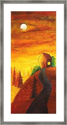 Long Way To Home Framed Print by Nirdesha Munasinghe