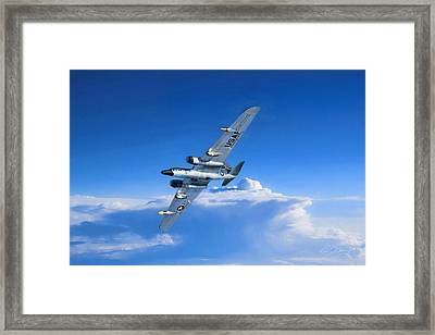 Long Wing Weather Recon Framed Print by Peter Chilelli
