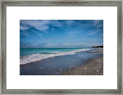 Longboat Key Glorious Day Framed Print by Betsy Knapp