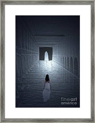Longing For Liberty  Framed Print by Manjot Singh Sachdeva