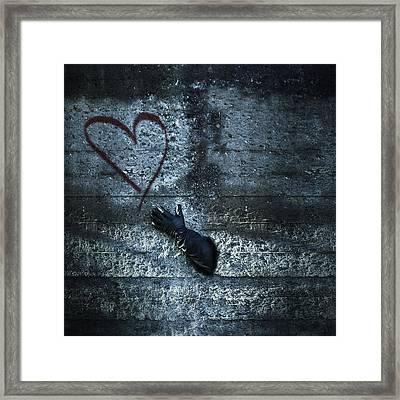 Longing For Love Framed Print by Joana Kruse