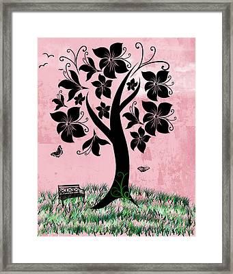Longing For Spring Framed Print by Rhonda Barrett