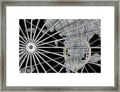 Longitudinally Abstract Framed Print by JC Findley