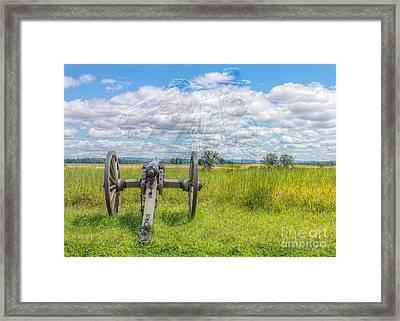 Longstreet Returns To Gettysburg Framed Print by Randy Steele