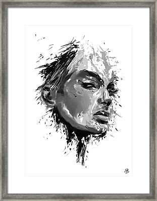 Look Framed Print by Balazs Solti
