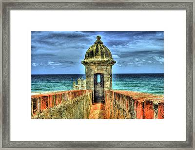 Look Out Framed Print by Dado Molina