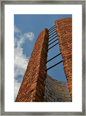 Look Skyward Framed Print by Mary Zeman