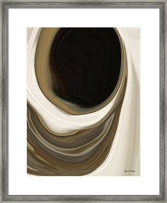 Look You Down Into Your Well Framed Print by Chad Miller