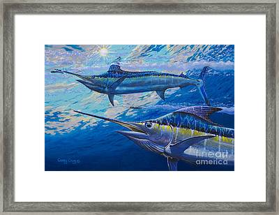 Lookers Off0019 Framed Print by Carey Chen