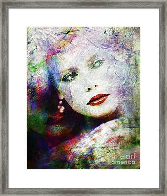 Looking At Tomorrow Framed Print by Edmund Nagele