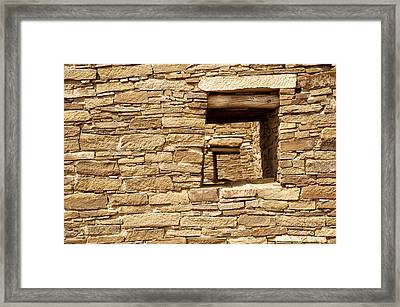 Looking Back In Time Framed Print by Melany Sarafis