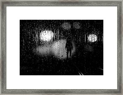 Looking For A Ride Framed Print by Bob Orsillo