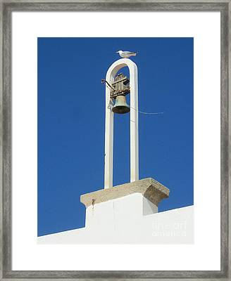 Looking Out To Sea Framed Print by Jayne Abbott Ribeiro