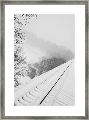 Looking Over Framed Print by Cheryl Helms