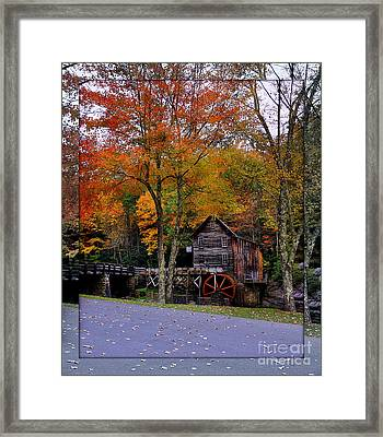 Looking Though Framed Print by Brenda Bostic