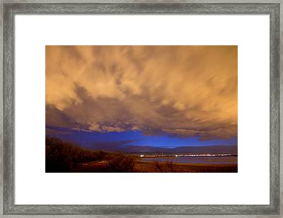 Looking Through The Storm Framed Print by James BO  Insogna