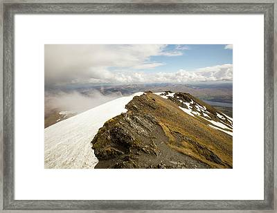 Looking Towards Loch Tay Framed Print by Ashley Cooper