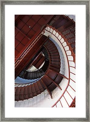 Looking Up Framed Print by Bernard  Barcos