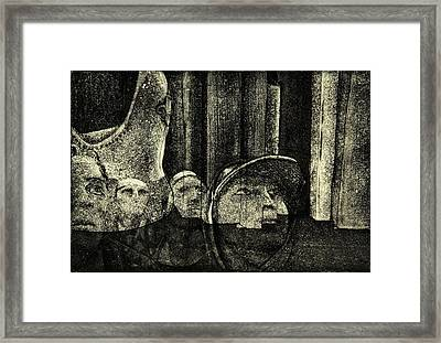 Looking Up Framed Print by David Honaker