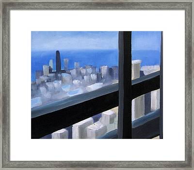 Lookout  Framed Print by Christina Rahm Galanis