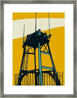 Lookout Framed Print by Eliza Southwood