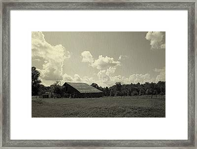 Lookout Mountain Scenic Loop Framed Print by Laurie Perry