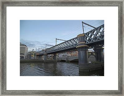 Loopline Bridge Dublin Ireland Framed Print by Betsy C Knapp