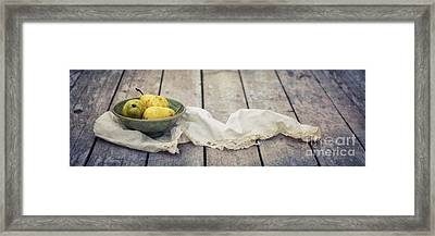 Loosely Draped Framed Print by Priska Wettstein