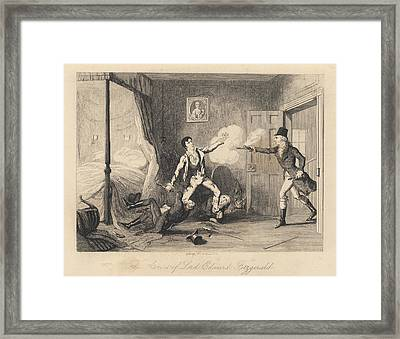 Lord Edward Fitzgerald Framed Print by British Library