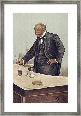 Lord Rayleigh Discovering Argon, 1894 Framed Print by Science Photo Library